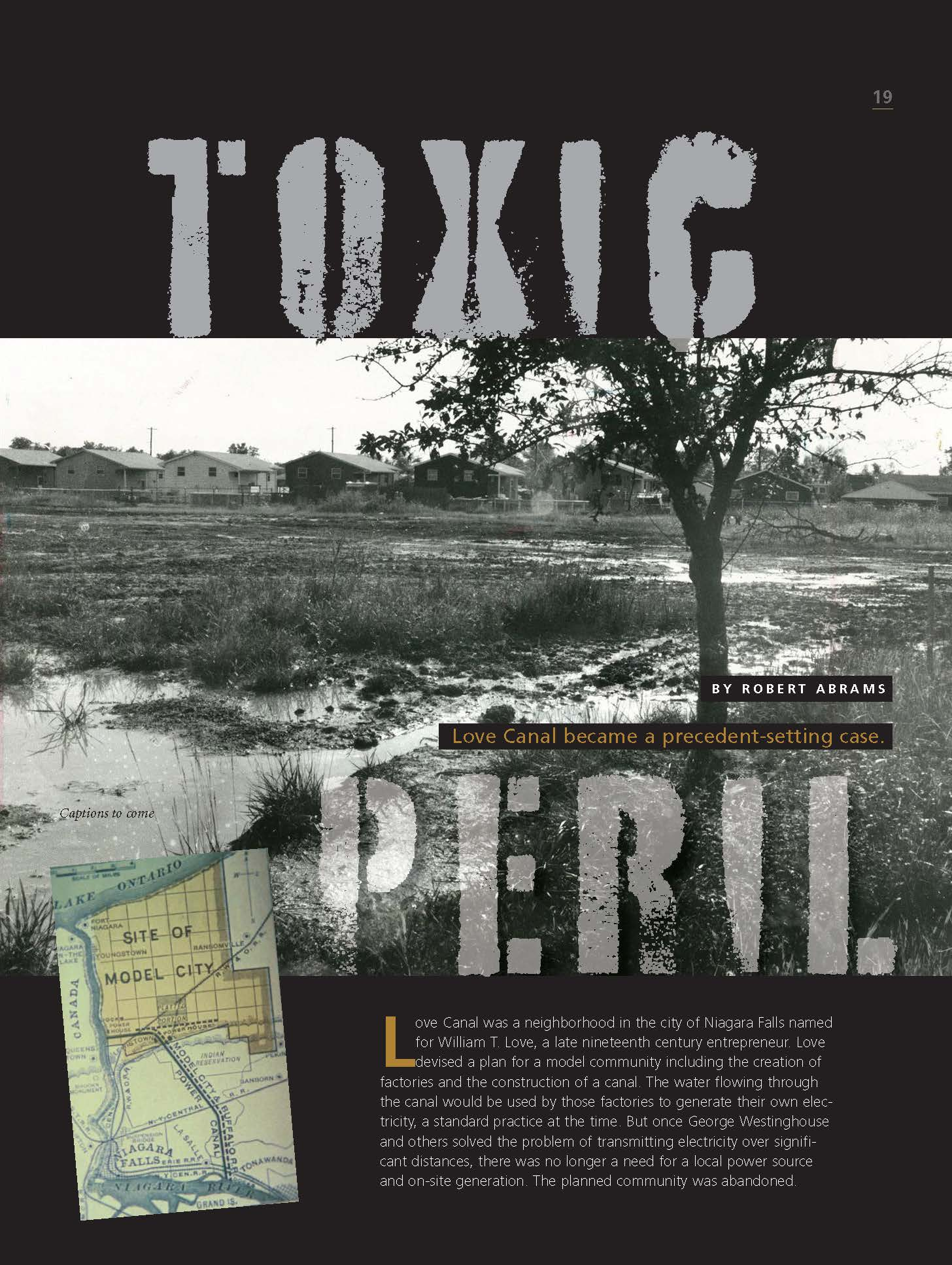 Toxic Peril Love Canal Article