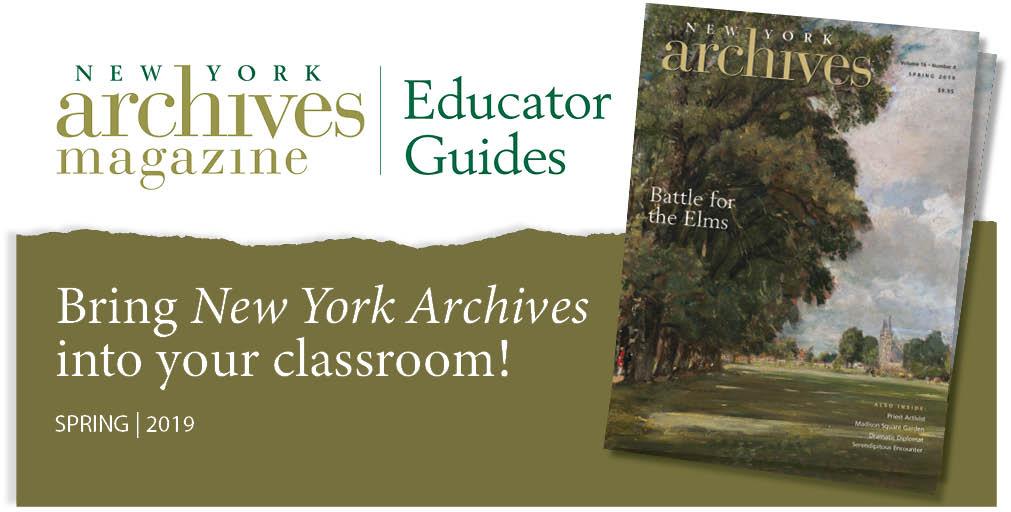 Spring 2019 Educator Guide - Battle for the Elms