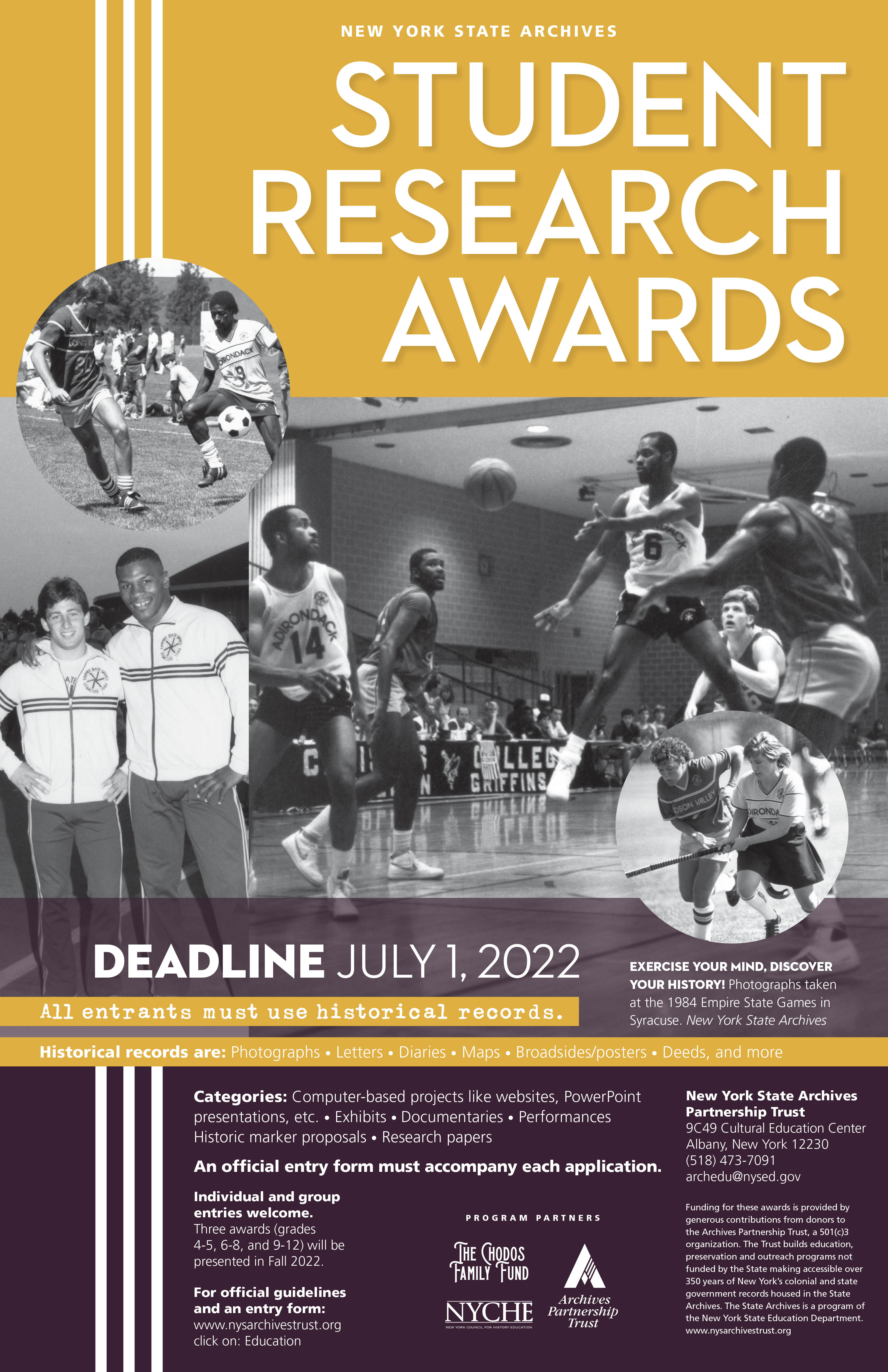 2022 Student Research Awards Poster
