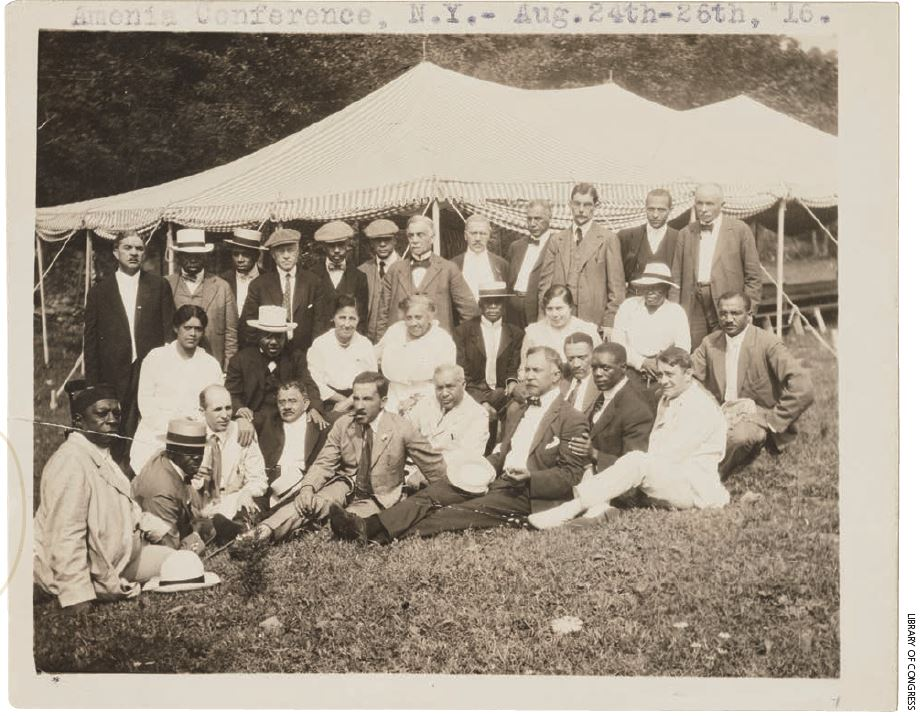 Load Amenia Conference, Courtesy: Library of Congress in Main Image Viewer
