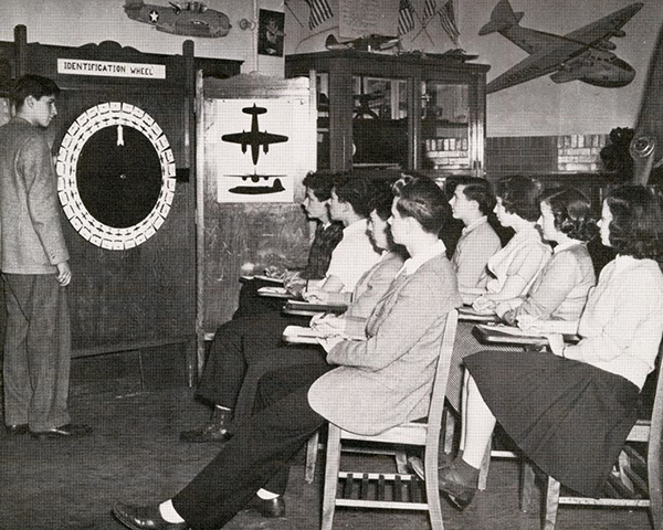 Load Aircraft Training, Courtesy: New York State Archives in Main Image Viewer
