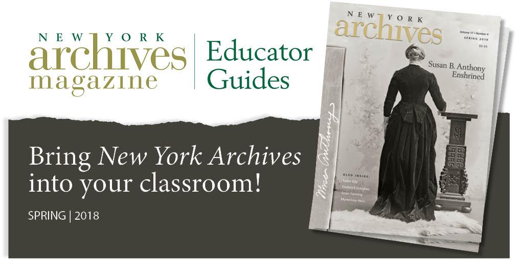 Spring 2018 Educator Guide - Remembering Susan B. Anthony