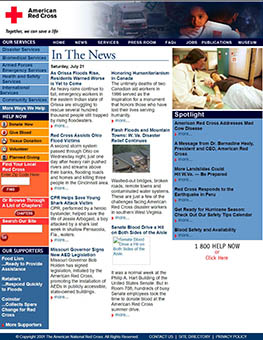 Impact of 9/11: The Role of the American Red Cross
