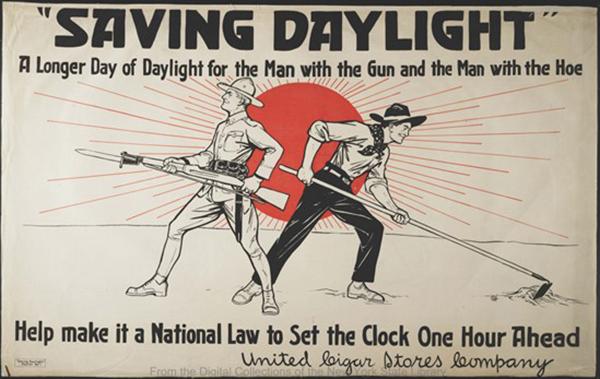 Daylight Saving Time Poster